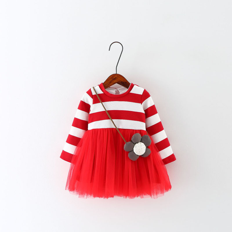 0884cb3ff 2016 new spring autumn baby dress girl dress princess dress 100 ...