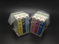 3 sätze/los 82N echtem tinte patrone für Epson T50/TX700FW/TX650/TX800FW/R270/R290/ RX590/RX610/RX690 drucker