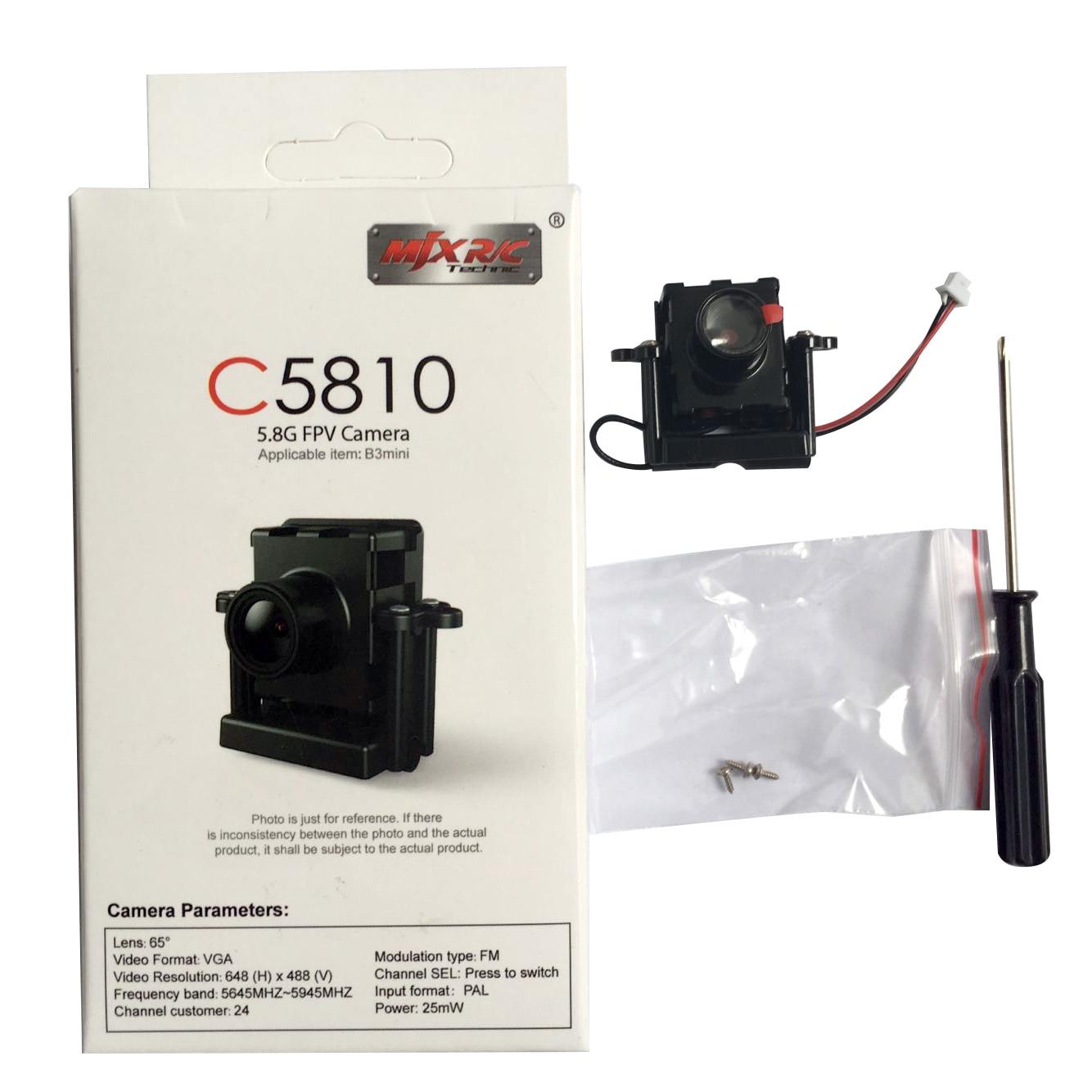 MJX C5810 5.8G FPV WIFI Camera for MJX Bugs 3 B3 Mini Brushless RC Quadcopter Cam D43 Monitor Replace C5007 Accessory mjx b3
