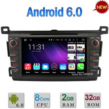 8″ 2GB RAM 32GB ROM Android 6.0 Octa Core A53 PX5 WIFI DAB+ Car DVD Multimedia Player Radio Stereo GPS For Toyota RAV4 2013-2016