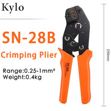 SN-28B/1550Pcs dupont crimping tool pliers terminal ferrule crimper wire plier Multi Repair Tool Pliers