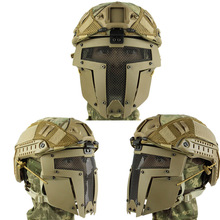 Paintball mask  Half Face airsoft mask free shipping outdoor paintball airsoft full face protection goldf templar mask helmet cosplay tb563 face mask free shipping