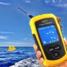 Портативный Размеры Беспроводной Рыболокаторы Sonar эхолот 40 м глубина океана диапазон Озеро Рыбалка finder Для океан реки