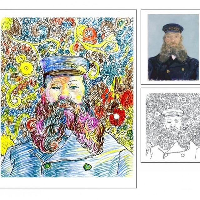 Soy un artista libro para colorear para adultos niños graffiti ...