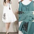 Свободные Слинг Белье Материнства Dress Удобную Одежду для Беременных Женщин Лето Танк Одежда для Беременных Старинные Рубашки 2017
