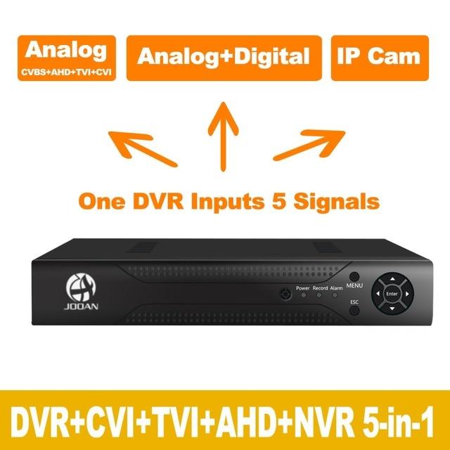 Jooan 3104 canales cctv dvr sistema de seguridad completa d1 h.264 hdmi p2p nube motion detección de vigilancia teléfono remoto de doble flujo anfitrión