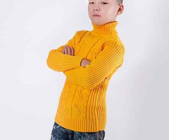 Cô gái áo len Mùa Thu Đông Bé Gái Áo Len Áo Thun Phim Hoạt Hình Dễ Thương Hàng Dệt Kim Trẻ Em Quần Áo Trẻ Em Cao Cổ Áo Khoác Ngoài