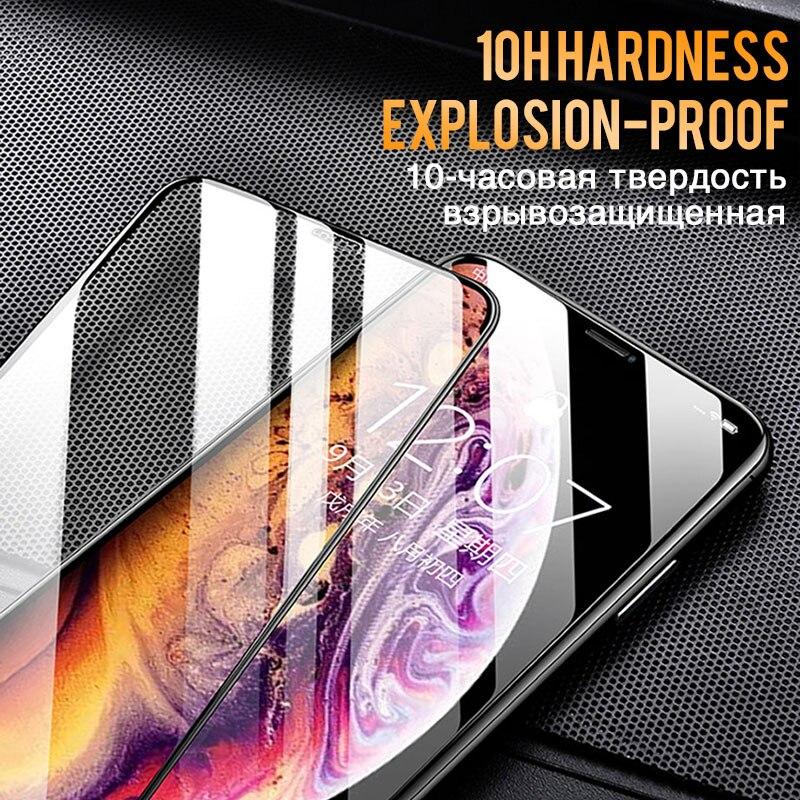 Image 5 - 30D полное защитное стекло с закругленными краями для iPhone 7 8 6 6S Plus, закаленное защитное стекло для X XR XS Max-in Защитные стёкла и плёнки from Мобильные телефоны и телекоммуникации on AliExpress