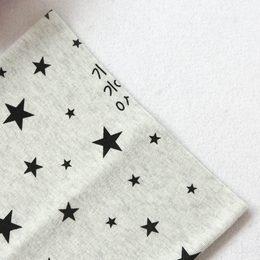 Cotton Scarf Ring for Children Winter Tube Scarf Boy Girl Scarves Shawl Autumn O Ring Neckerchief Cartoon Bear Star Pattern in Scarves from Mother Kids