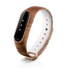 De la correa de muñeca de silicona para Xiao mi banda 2 Deporte Fitness pulsera para mi banda 2 reloj inteligente accesorios electrónica pulsera