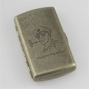 Image 4 - Новый металлический чехол для сигарет, карман для хранения, контейнер для испарителя IQOS, мини держатель для сигарет