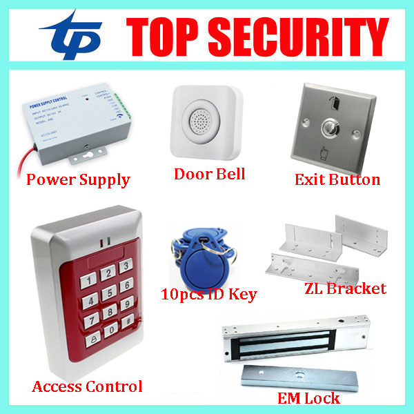 New arrival 1000 users standalone ID card access control system DIY single door access controller smart RFID card reader system waterproof door access control system 125khz rfid card standalone access controller 1000 users card reader