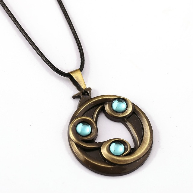 DOTA2 Choker Necklace Talisman Of Evasion Pendant Men Women Gift Game Jewelry Accessories YS11528