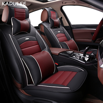 KADULEE car seat cover For skoda octavia a5 rs 2 a7 rs superb 2 3 kodiaq fabia 3 yeti automobiles seat cover auto accessories
