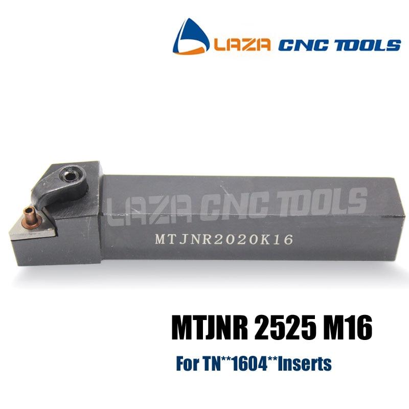 MTJNR2525M16 External Turning Tool Holder for TNMG1604 Lathe