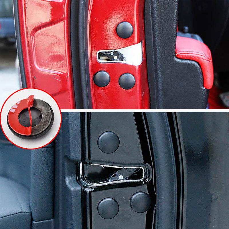 Image 2 - 12Pcs Car Interior Door Lock Screw Protector Cover Anti Rust Cap Trim Stickers Car Door Lock Screw Protector Cover-in Door Lock Protective Cover from Automobiles & Motorcycles