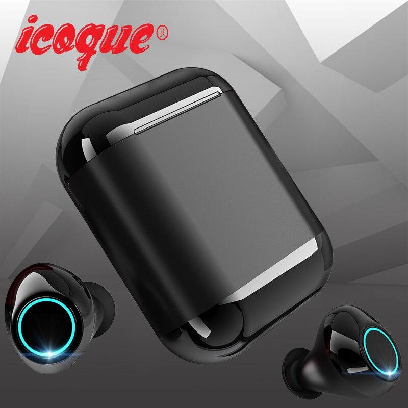 TWS Bluetooth écouteurs sans fil casque Bluetooth 5.0 casque avec micro Mini Sport écouteurs stéréo Bluetooth écouteurs pour Xiaomi