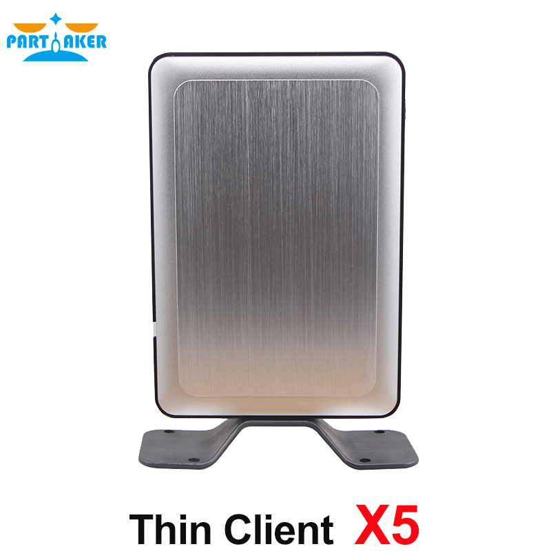 Partaker RDP8 Thin Client X5 for Windows Fanless Cloud Computer VMware USB Printer 720P Online Video partaker all winner a20 512mb ram linux fl100 thin client network terminal cloud computer mini pc station