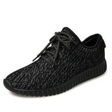2016ใหม่สะดวกสบายระบายอากาศได้ผู้หญิงผู้ชายลำลองสีเทา/สีขาว/สีดำรองเท้า,ยี่ห้อคุณภาพผู้ชายรองเท้าสบายๆฟรีรองเท้าไม่มีโลโก้