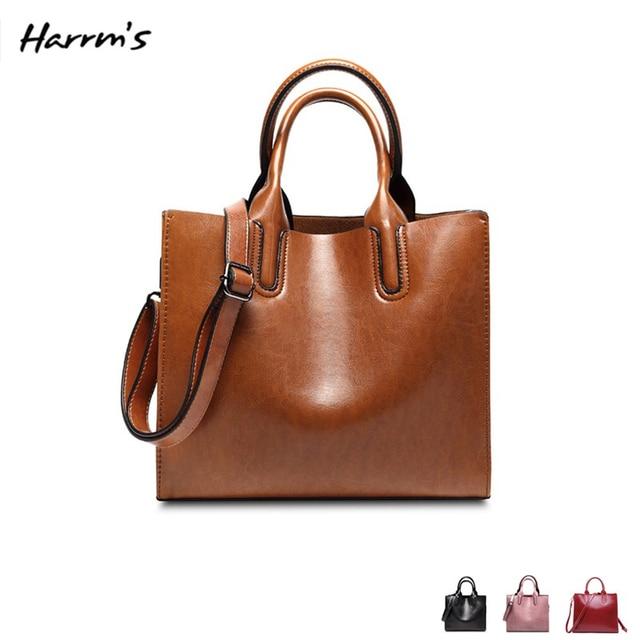 Free shipping 2018 Woman Leather Bags Handbags Women Casual Women Bags Tote Shoulder Retro Korean Ladies Fashion Messenger Bag