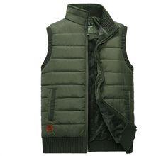 new Men photography vest Spring&autumn men Multi-pocket  Man Lambs wool lining Warm vests Plus Size S-4XL