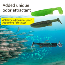 цена на 10Pcs 60mm Soft Lure Tackle Adding Fish Attractant Wobblers Fishing Lures Silicone Bait Shad Worm Carp Fishing Artificial Lure