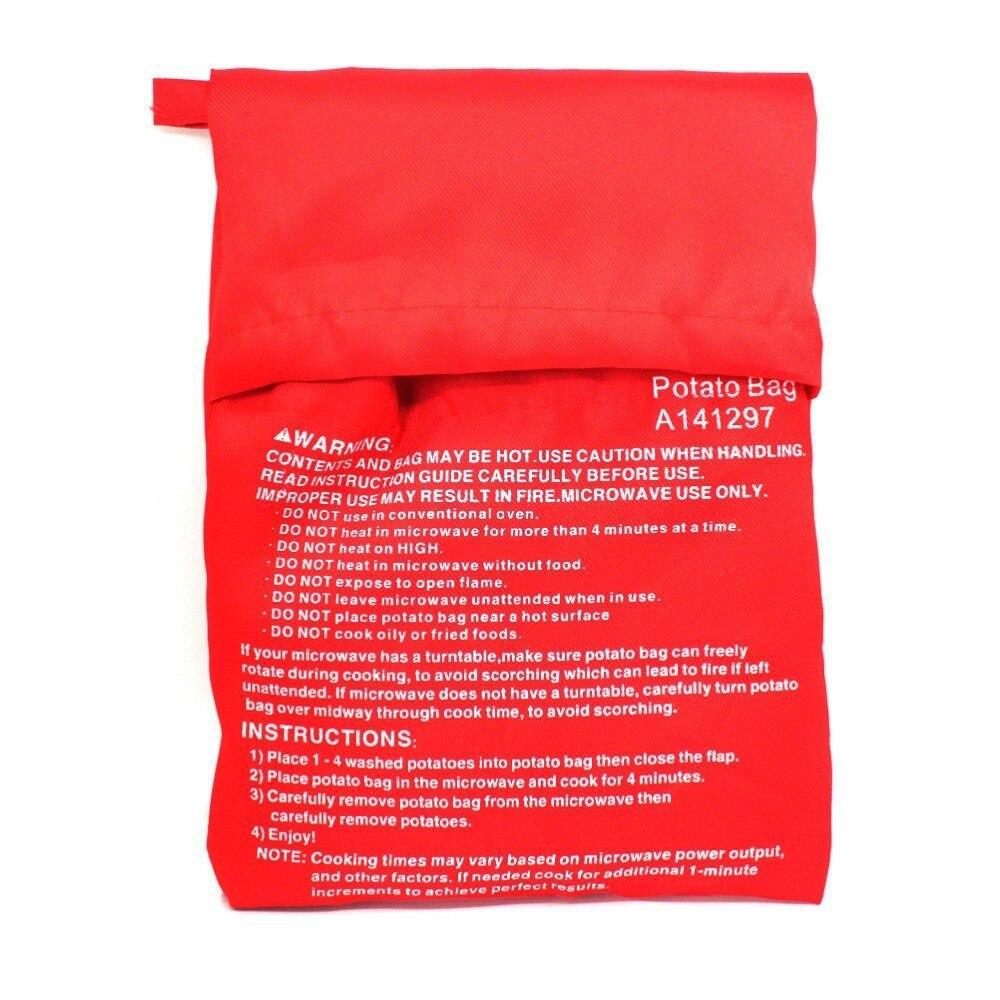Perfekt ovnbagt kartofler på bare 4 minutter nyttigt Køkkenredskab værktøj til kvinder en rød taske kartofler kan være ...