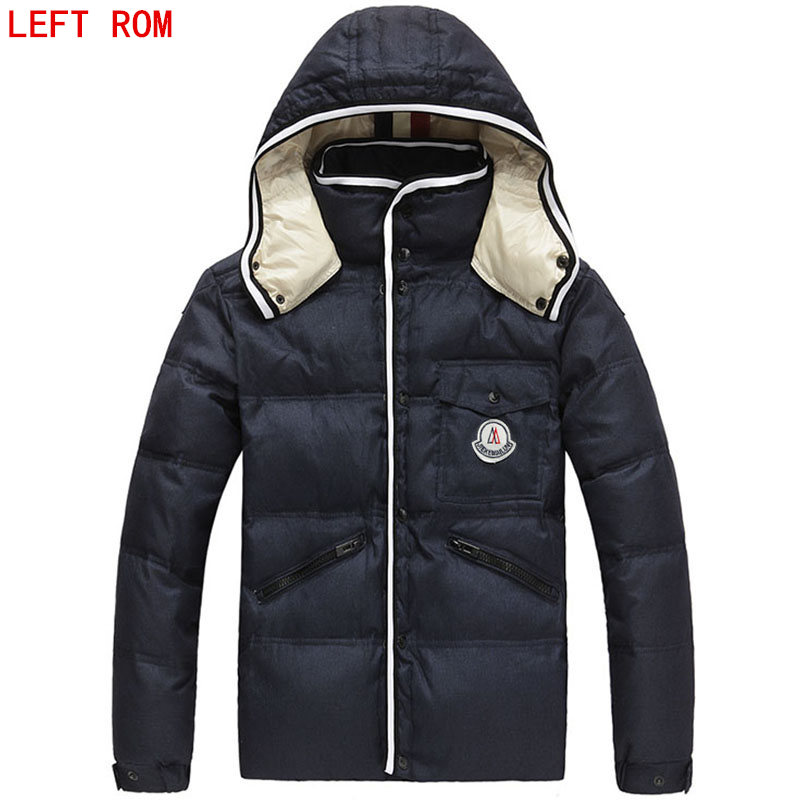 2017 Winter Jacket Men Autumn And Winter Short Warm High Quality Standard Clothing Male Casual Coats Mens hooded down jacket