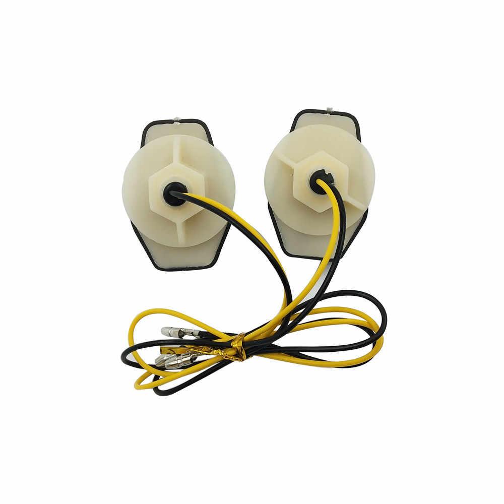 Новинка, 15 Янтарный светодиодный светильник с заподлицо, дымовой указатель поворота, мигалка, Универсальный мотоциклетный сигнальный светильник, аксессуары J01