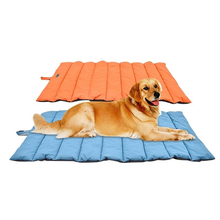 Pet Mat Outdoor Waterproof Cushion Dog Roll Up Rest Blanket Sleeping Bed Soft Cooling
