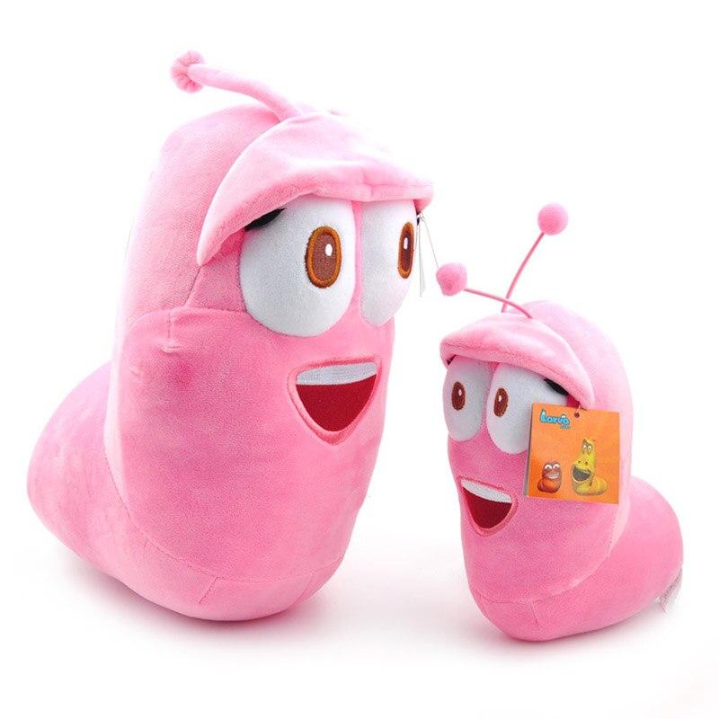 15CM/30CM Korean Larva Animal Dolls Plush Insect Cartoon Kawaii Pillow for Kids Friend Girls
