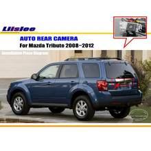 Câmera retrovisor do carro para mazda tribute 2008-2012 reverso back up acessórios de automóvel cam ntsc rca pal