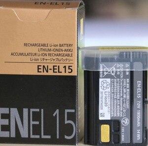 Image 2 - EN EL15 ENEL15 EN EL15 Pil Piller paketi Için nikon kamera D600 D610 D600E D800 D800E D810 D7000 7100 d750
