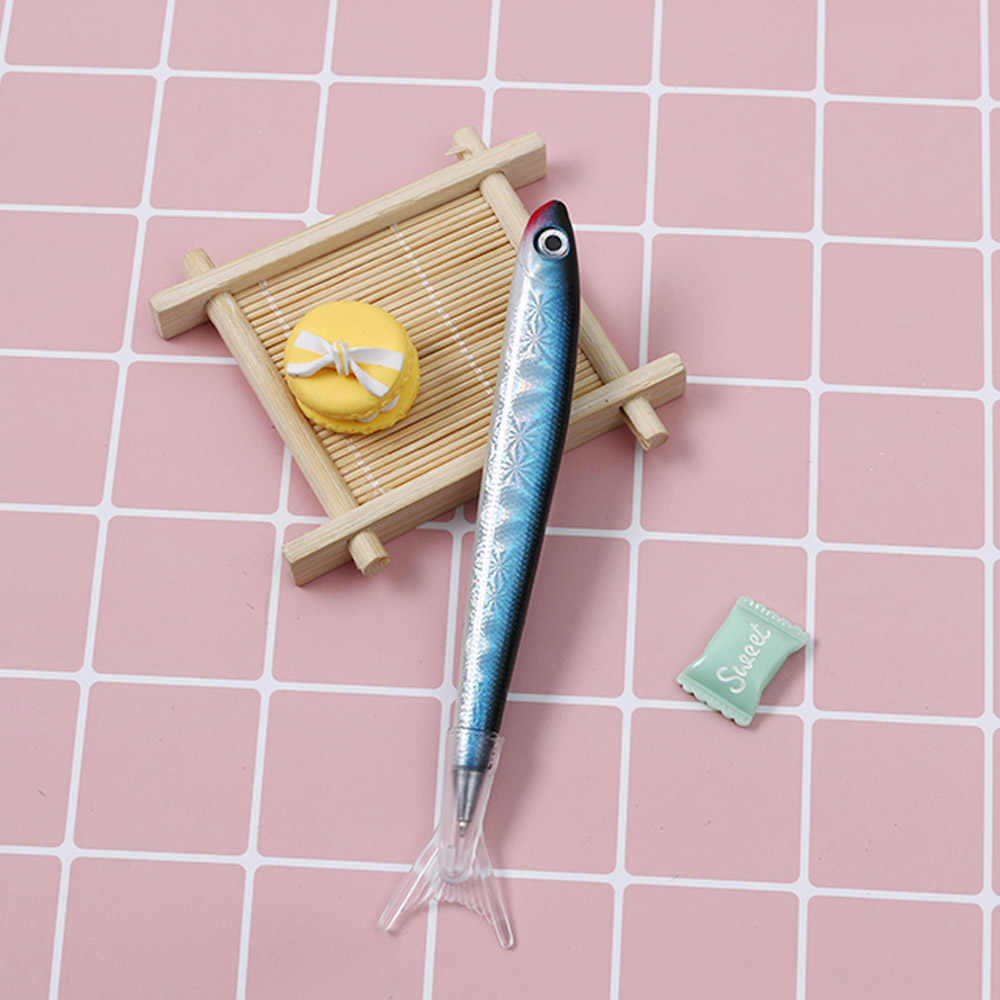 2019 כתיבה כלי תלמיד מכתבים אוקיינוס דגי כדורי עט חתימת עט כדורי עבור משרד ספקים ספר מתנה