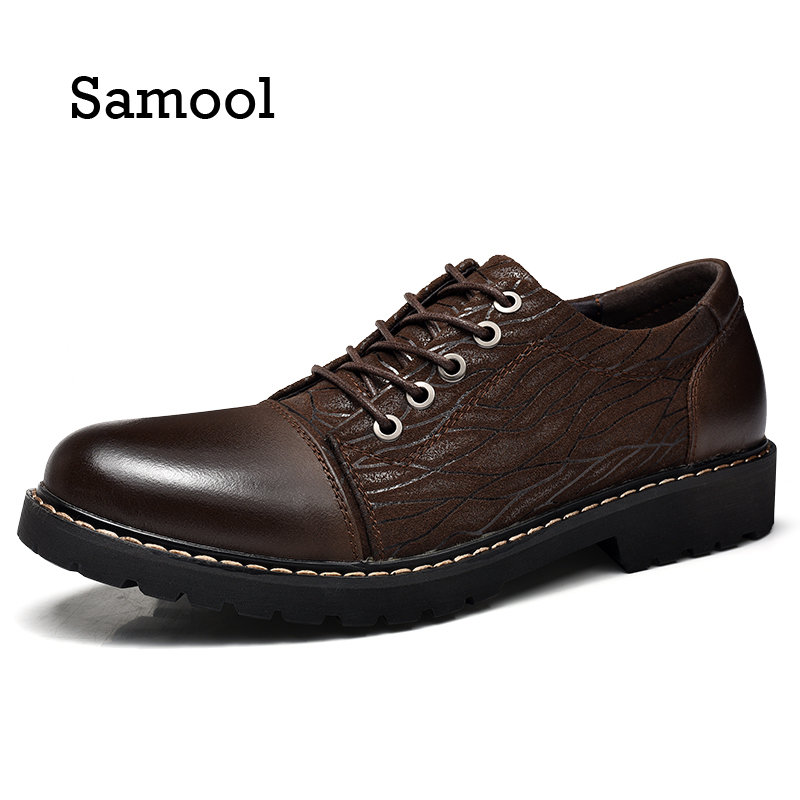 SAMOOL New arrival high genuine leather comfortable casual shoes men cow suede loafers shoes soft breathable Autumn and Winter new arrival dreambox cow suede shoes gold and black rivets fashionable parties and banquets men s shoes european style smok