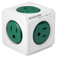 1 Piece Allocacoc Original PowerCube Socket US Plug 5 Outlets Adapter 15A 125V With Free Shipping