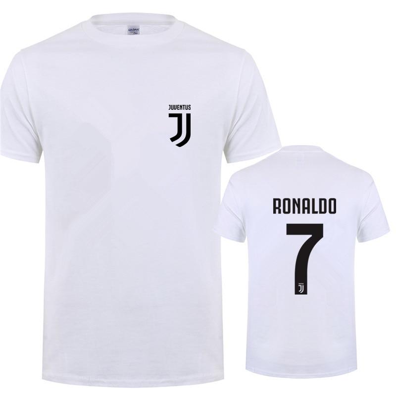 Bambini 2 - 16 Anni Bambino: Abbigliamento 2019 Latest Design T-shirt Cristiano Ronaldo Cr7 Bianca Nera Bimbo Bambino Bambina Juve Calcio