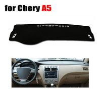 Car Dashboard Cover Mat For Chery A5 All The Years Left Hand Drive Dashmat Pad Desk