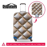 Dispalang 3D Print Geometric Logo Pattern on Suitcase Cover for Women Fashion Luggage Protective Covers Best Travel Accessories