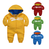 2016 New Baby Boy Girl Clothes Bebes 100 Cotton Autumn Winter Baby Rompers Newborn Long Sleeve