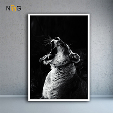 NOOG Nordic Animal Canvas Painting Wall Art Picture For Living Room Poster Decoration No Frame Morden Print