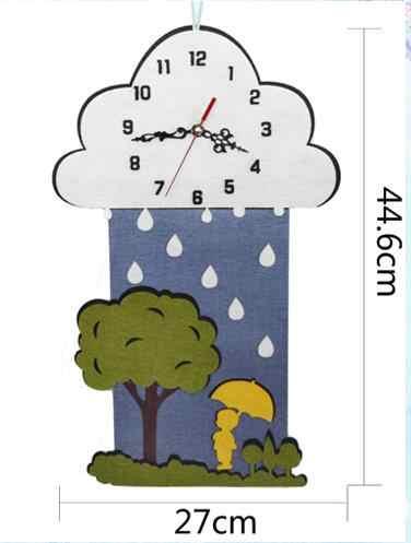 Единорог маленький космический ветер подвеска-колокольчик войлочный набор Нетканая ткань ремесло DIY шитье Войлок ручной работы материал DIY рукоделие принадлежности