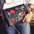embroidered bag 2017 luxury handbag women envelope party bags obag fashion chain messenger bags designer Diamond clutch purses