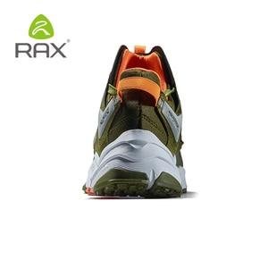 Image 4 - Мужская обувь для походов RAX, легкая Нескользящая амортизирующая Уличная обувь для мужчин, дышащие кроссовки для скалолазания, 423