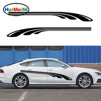 HotMeiNi 2X Parallel Arrangement of A Golf Club Streamlined Dynamic Artistic Streak Car Stickers Camper Van Vinyl Decal 9 Colors