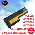 Оптовая 4 ячеек батареи ноутбука ДЛЯ ThinkPad x60 x61 X60s X61s 40Y6999 40Y7001 40Y7003 ASM92P1170 ASM92P1174