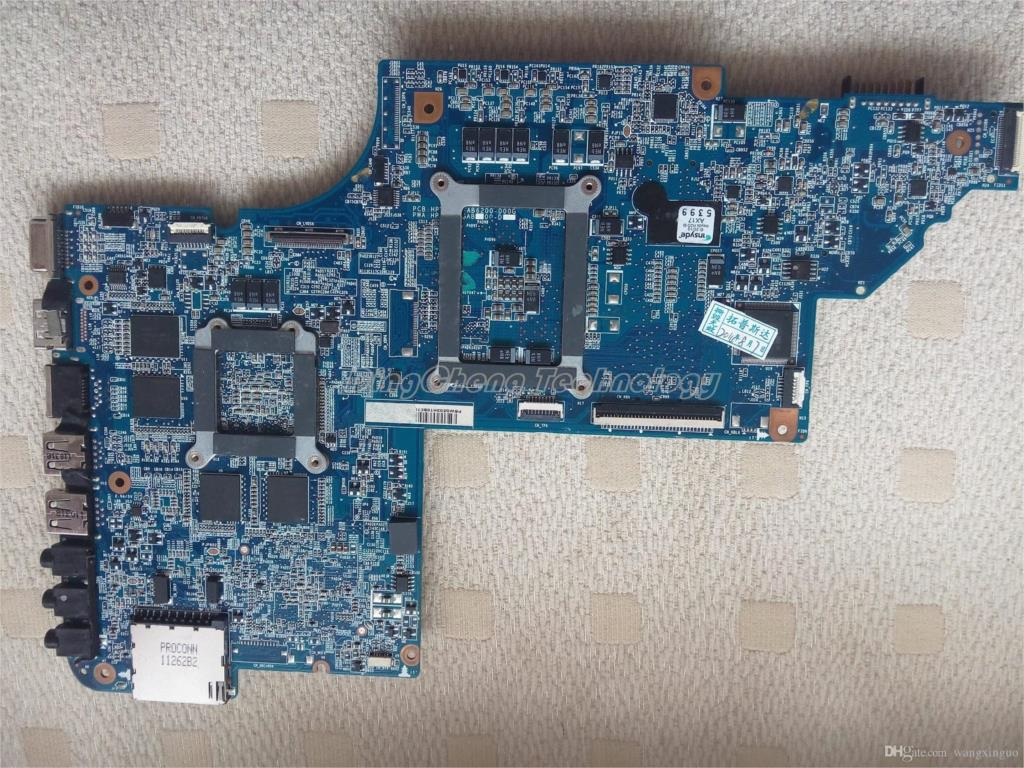 SHELI laptop Motherboard for hp DV6 DV6-6000 650799-001 HM65 HD6770/2G non-integrated graphics card 100% fully tested original 615279 001 pavilion dv6 dv6 3000 laptop notebook pc motherboard systemboard for hp compaq 100% tested working perfect