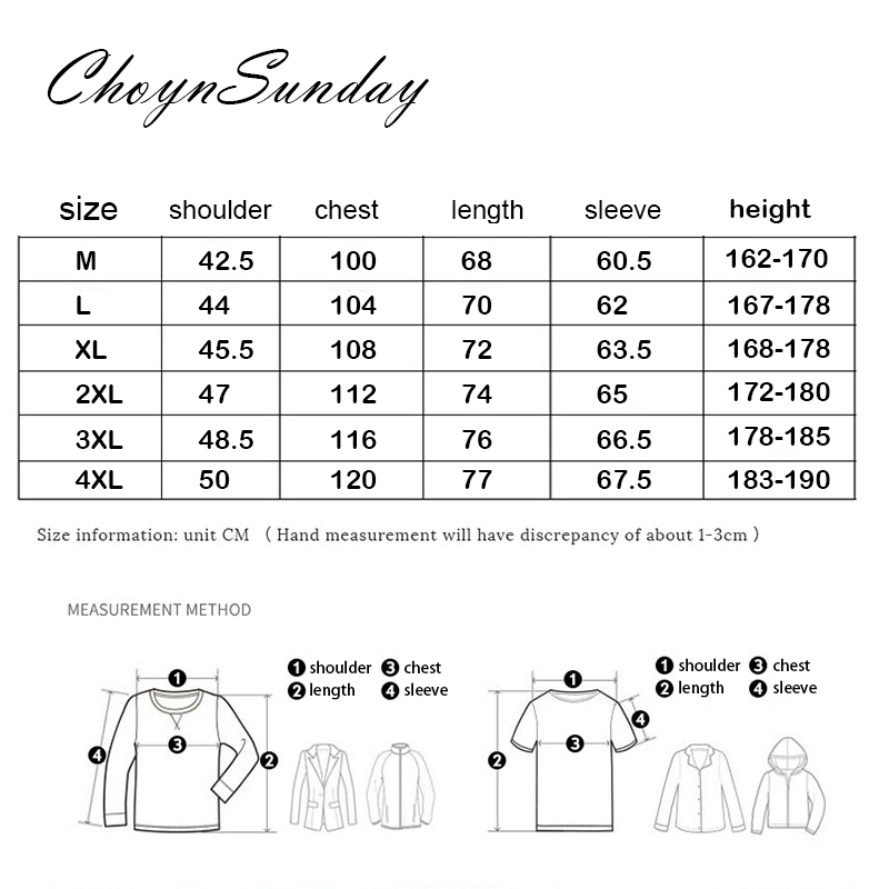 ChoynSunday 2018 new trend Men's Youth Slim Spring and Autumn Casual Shirt Men's Imitation Denim Shirt Men's Long Sleeve shirt 6