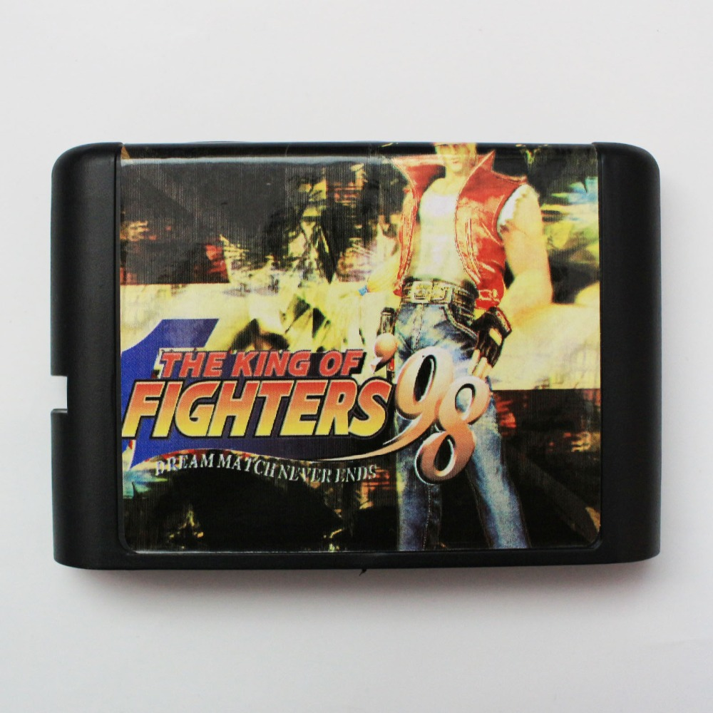 King Of Fighters 98 16 bit SEGA MD Game Card For Sega Mega Drive For Genesis
