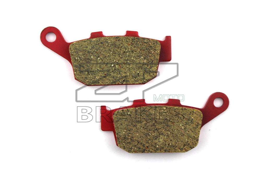 Motorcycle parts Brake Pads Fit HONDA CB 400 F2N,R,S,T/F3S Superfour 1992-1995 Rear OME Red Ceramic Composite Free shipping